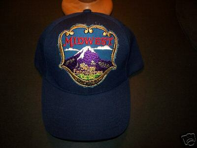 **midwest Swiss Embroideries  Hat**