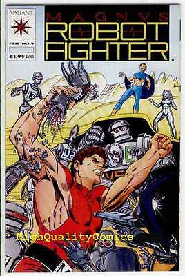 MAGNUS, ROBOT FIGHTER #9, NM, Ernie Colon, Valiant, more in store