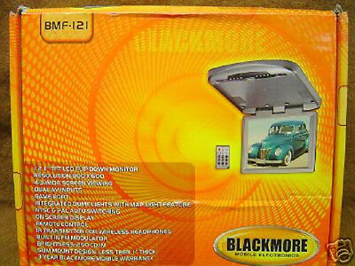 """NEW Blackmore BMF-121 Flip Down 12.1"""" Roof Top Monitor"""