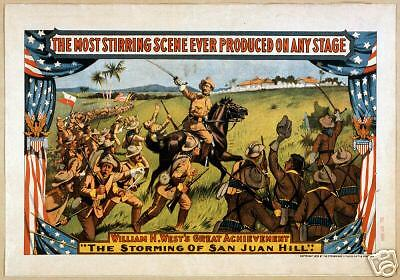 Spanish American War 1898 Graphics Campaigns battles