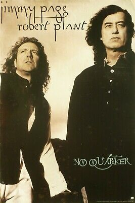 "Jimmy Page & Robert Plant ""no Quarter"" Us Promo Poster"