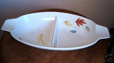Franciscan Autumn Divided Vegetable Bowl
