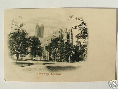 Canterbury Cathedral Undivided Back Photo Postcard 1900