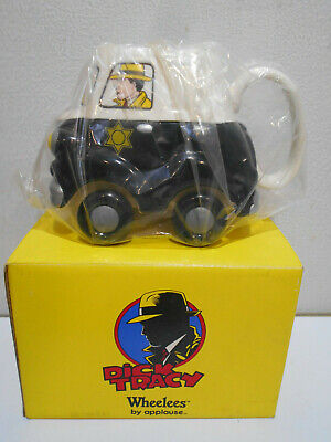 Dick Tracy Wheelees by applause cup mug in orig box