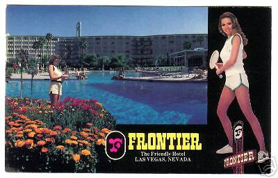 Las Vegas Nevada The Frontier Hotel Great Vintage View