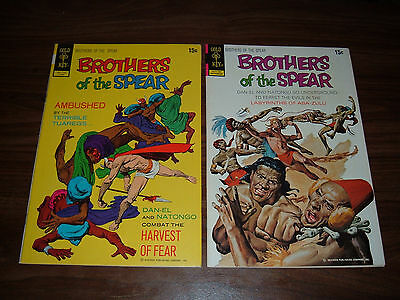 Brothers of the Spear 1,2 8,10-13 high grade!---lot of 7 comic books
