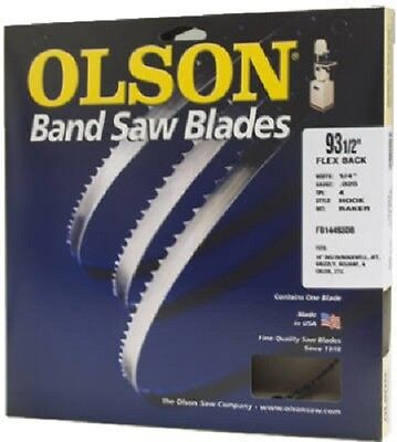 "Olson Band Saw Blade 1/2"" Wide x 64-1/2"" Long, 14 TPI"