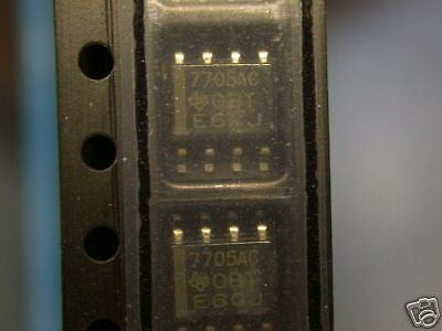 TI  TL7705ACDR  SUPPLY-VOLTAGE SUPERVISORS SO-8 SMD IC