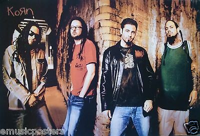 """KORN """"STANDING BY THE CORNER OF A BRICK WALL"""" ASIAN POSTER - Alt Metal Music"""