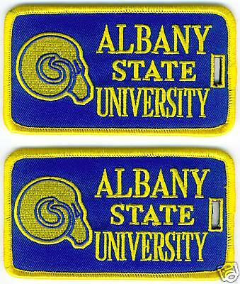 ALBANY STATE UNIVERSITY Luggage ID Tags (Set of 2)