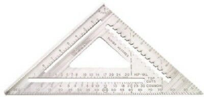 "Johnson Levels 12"" Aluminum Rafter Angle Square"