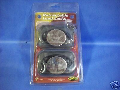 Lot of 4 Retractable Ford Bed Rail Load Locks Cargo Tiedown Outland 7041
