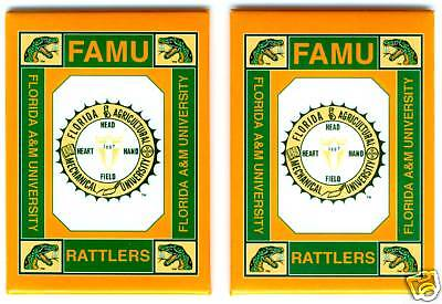 FLORIDA A&M UNIVERSITY - FAMU - Magnets (Set of 2)