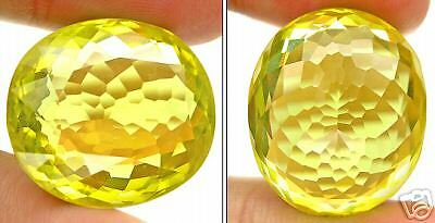 Natural Brazil IF Lemon Quartz Facet Gemstone 35.25Ct or 7.05g