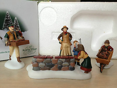 Dept 56 - Dickens Village - Tending The Cold Frame