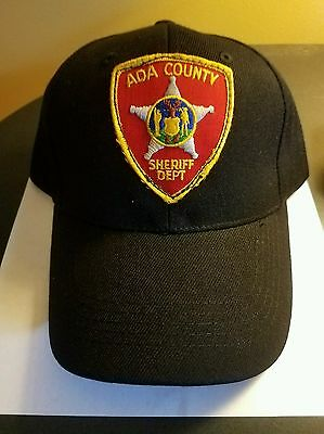 **ada County Sheriff  Police Hat**