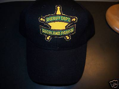 **richland Parish  Police Hat**