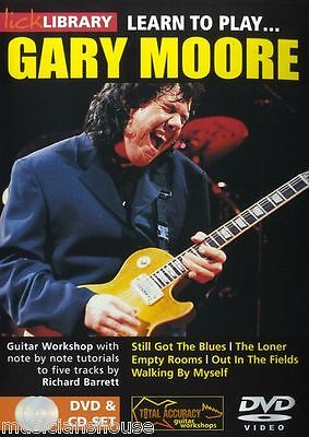 LICK LIBRARY Learn To Play GARY MOORE Still Got The Blues ROCK Tutor Guitar DVD