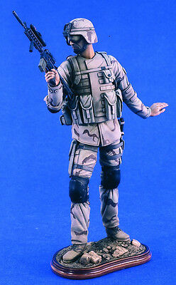 Verlinden Productions 200mm Airborne Iraq Resin Figure Hobby Model Kit #2318