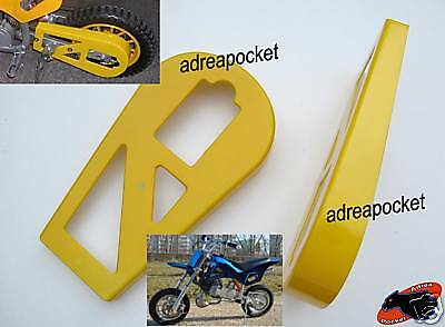 Protection Jaune Chaine Pocket Bike Cross