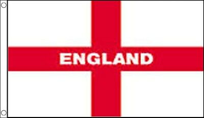 ST GEORGE CROSS ENGLAND FLAG 5'x3 Rugby Football World Cup Euro 2016 Georges Day
