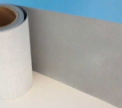 """Reflective Sew-On Safety Fabric Strip 4"""" wide 50 feet"""