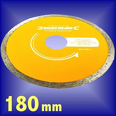 DIAMOND TILE CUTTING DISC ceramic floor 180mm INC VAT
