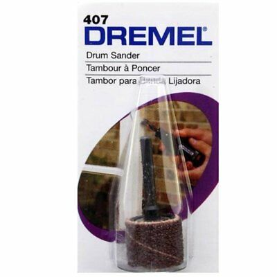 Dremel 407 Sanding Drum 60 Grit For Smoothing & Shaping by tyzacktools