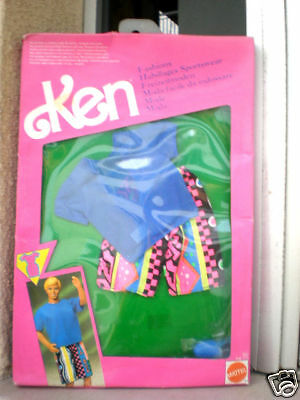 Barbie Ken Fashions Mattel 1991 Clothes For Him New See
