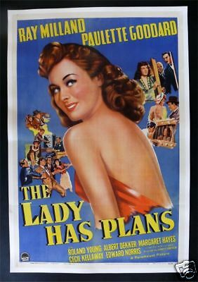 The Lady Has Plans * 1Sh Movie Poster Architect 1942