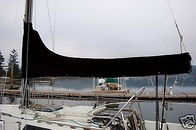 Sunbrella Black Mainsail Cover 8-9' Custom Made