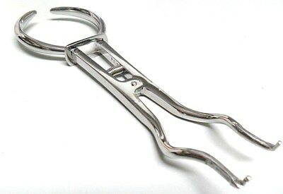 Dental Instrument Rubber Dam Clamp Forceps Brewer Stainless Steel 099-5448