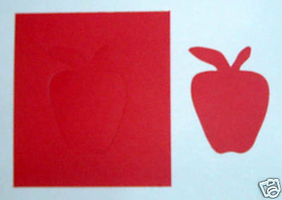 Creative Memories Apple Die Cut Bn & Nla