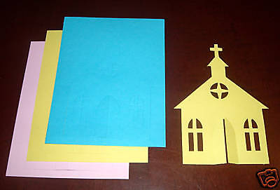 Creative Memories Large Church Die Cut Bn & Nla