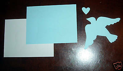 Creative Memories Large Dove Die Cut Bn & Nla