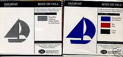 Creative Memories Sailboat Die Cut Bn & Nla