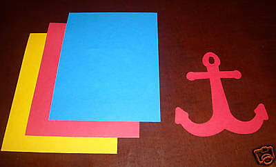 Creative Memories Anchor Die Cut Bn & Nla