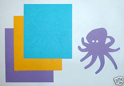 Creative Memories Octopus Die Cut Bn & Nla