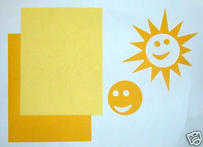 Creative Memories Large Sun Die Cut Bn & Nla