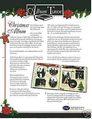 Creative Memories Christmas Album Tutor Bn & Nla