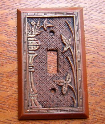 """New """"Broken Leaf"""" Electrical Switch Plate"""
