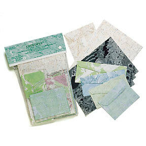 Geolopes: USGS Topographic Map Envelopes & Stationery