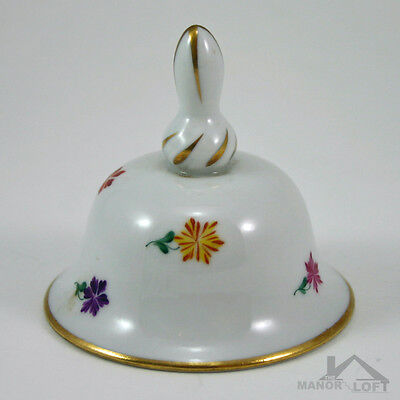 Vintage Herend Hungary Scarbantia Table Bell 8017 / SC