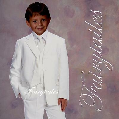 GINO Boy White Communion Suit Select From Many Sizes