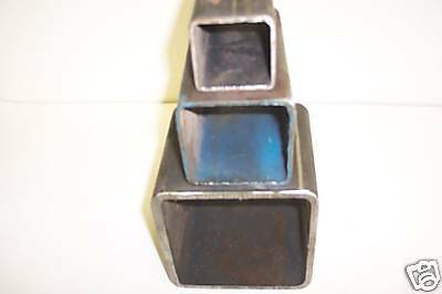 2 x 2 x 3/16 STEEL  SQUARE TUBE 1PC 48 INCHES LONG