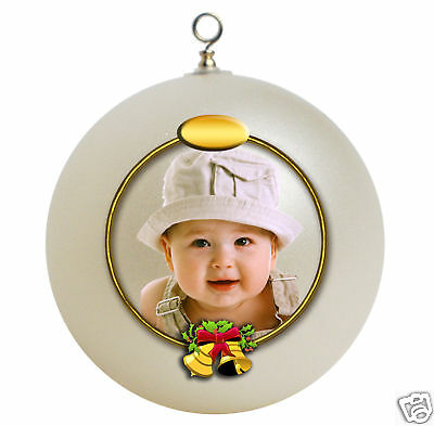 Personalized Baby's First Christmas ornament gift