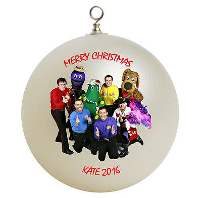 Personalized Wiggles Christmas Ornament Add Your Name