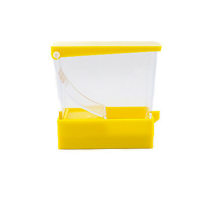 Dental Cotton Roll Dispenser Holder Organizer Deluxe with pull-out tray Yellow