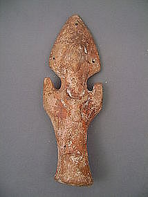 ANCIENT COPTIC TERRACOTTA OF A WOMAN-Gustave Jequier