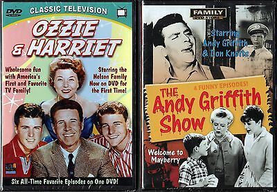 Ozzie & Harriet & Andy Griffith Show - 2 New Classic TV Comedy DVDs